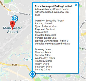 Park Mark Manchester Airport Parking