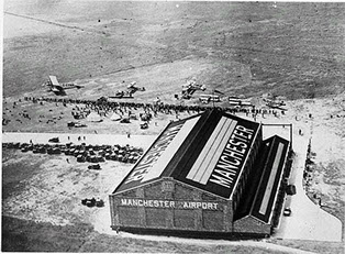 Manchester Airport Historical Image